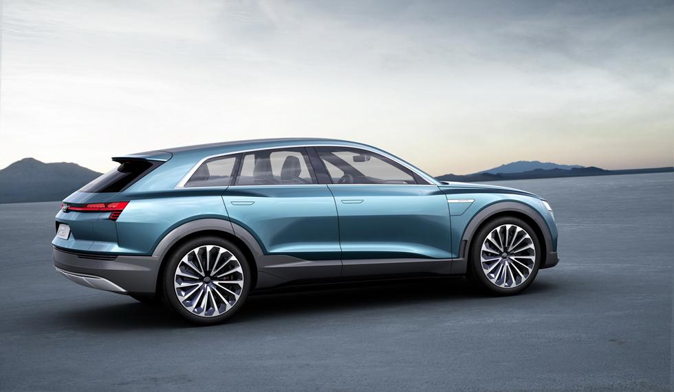 2016 아우디 e-트론 콰트로 콘셉트 2016 Audi e-tron quattro concept - 자동차